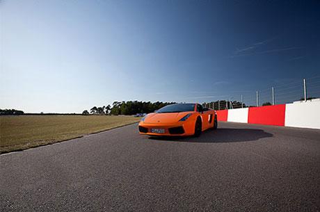 Bildbearbeitung Sportwagen